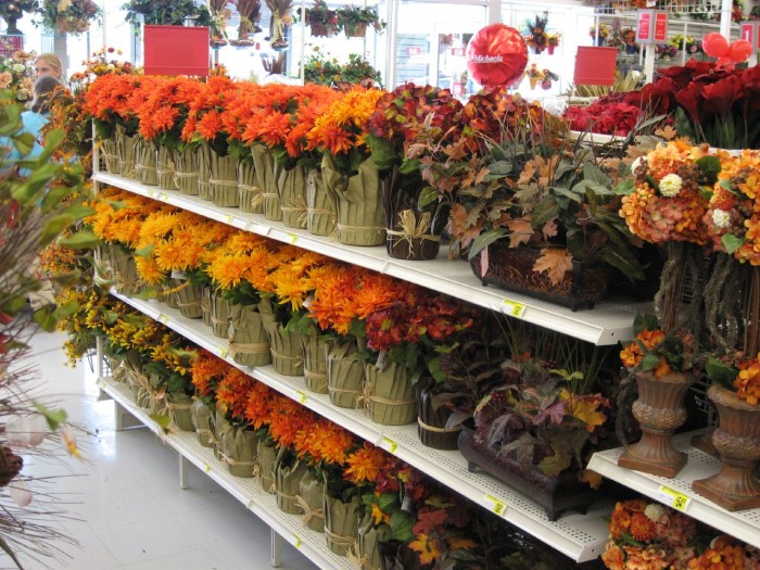 3. Fall decorations...