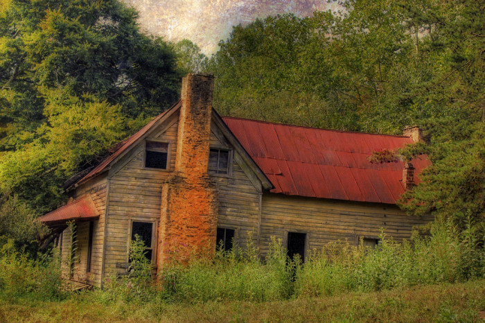 8. Abandoned House somewhere in North GA