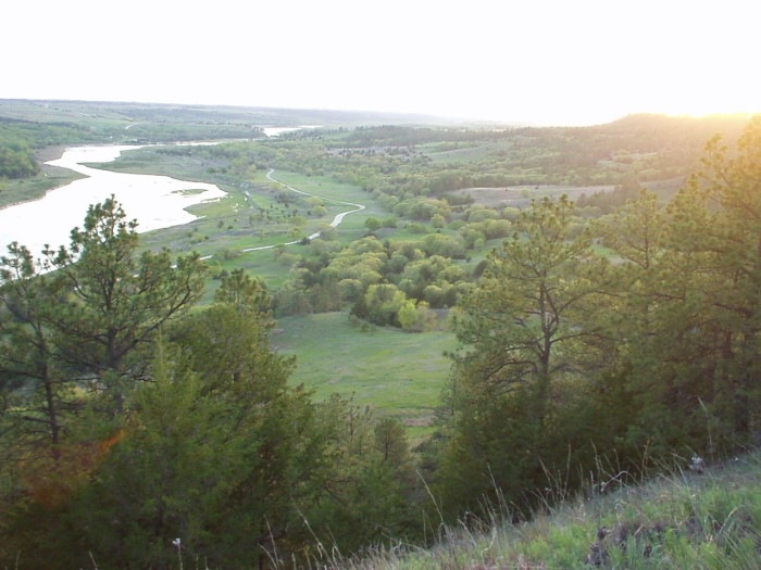6. The Sun Setting Over the Niobrara