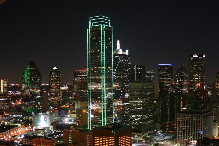 14) Lookin' good, Dallas!