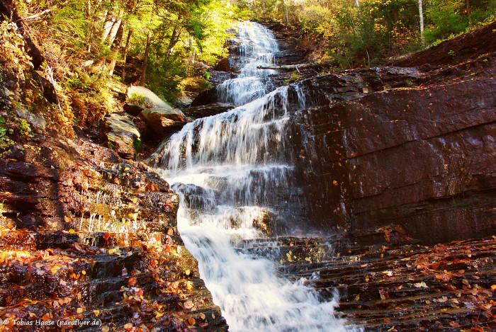 4. Lye Brook Falls
