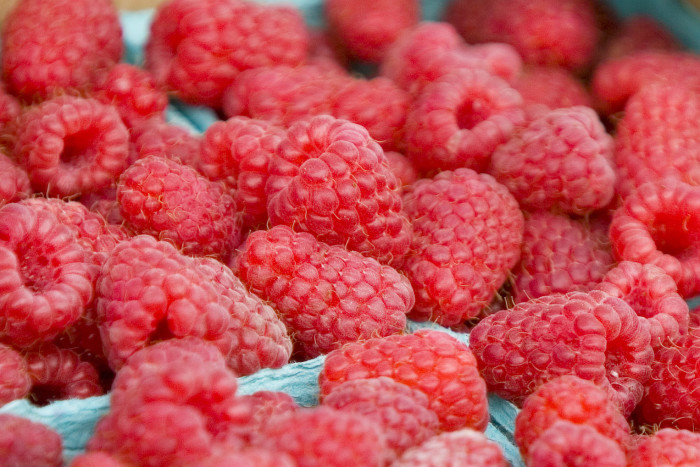 11. There wouldn't be nearly as many berries without our state! We lead the nation in red raspberry production, raising over 61 million pounds of berries a year.