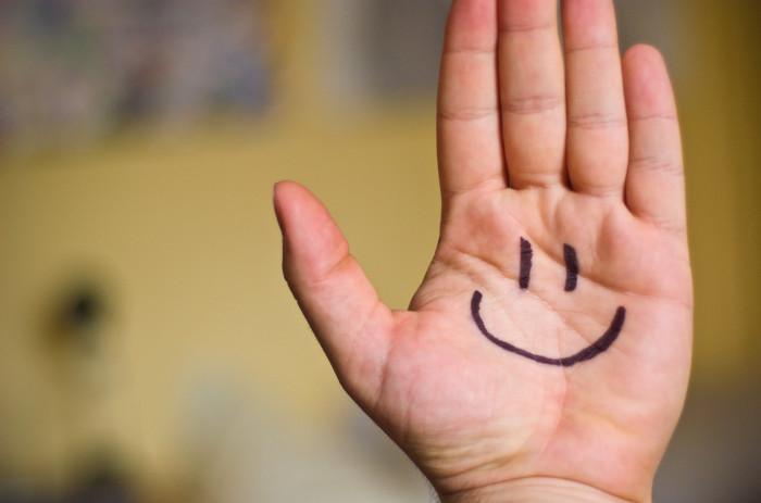 1. A smile!