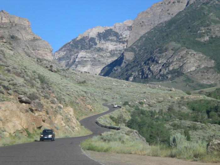 1. Lamoille Canyon Scenic Drive