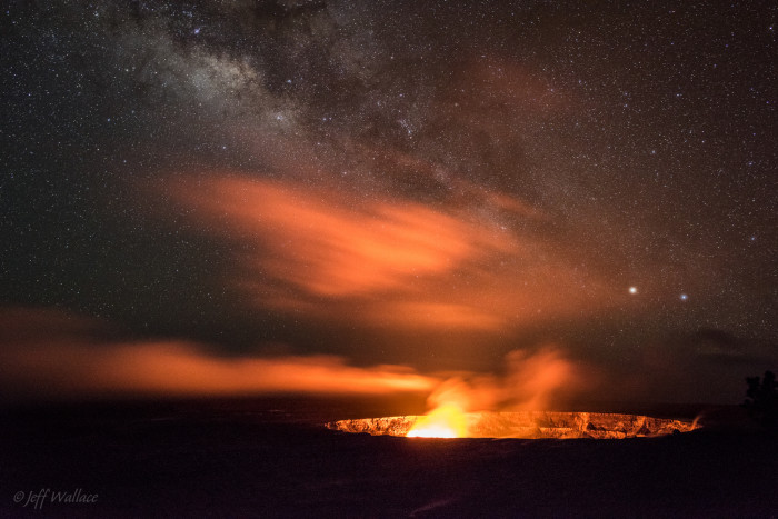 28) Kilauea Volcano, on the Big Island.