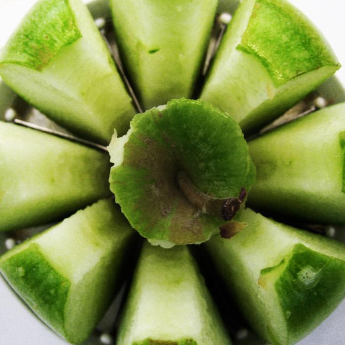 10. An apple slicer.