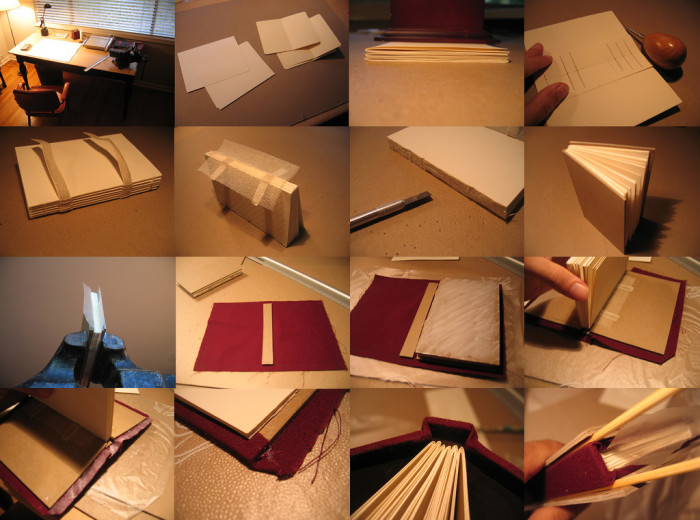 9. Got a bit of an old soul about you? Why not try a bookbinding class?