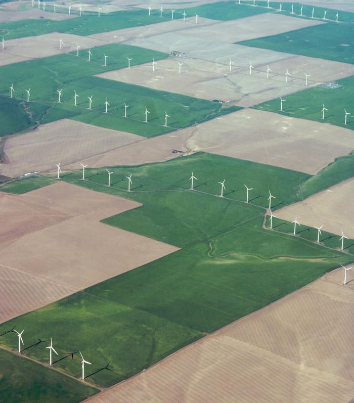 8) Windmills near Wasco, Oregon