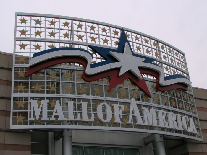 19. Shopped in a mall! Because MN was the birthplace of indoor malls.