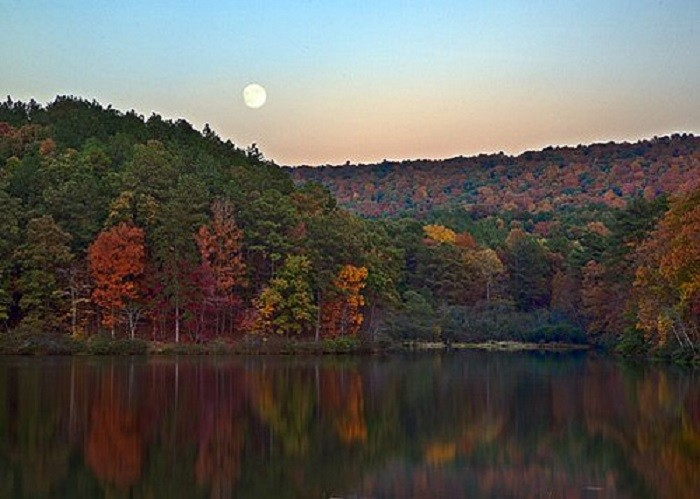10. Oak Mountain State Park