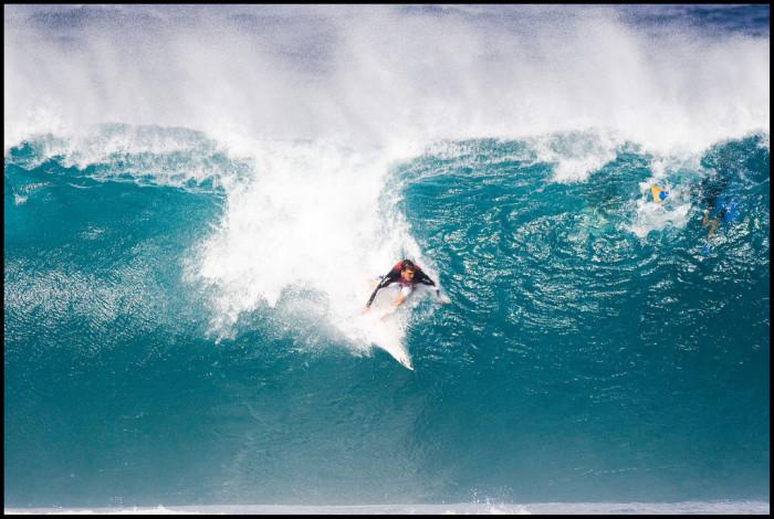 29) Oahu's Banzai Pipeline.