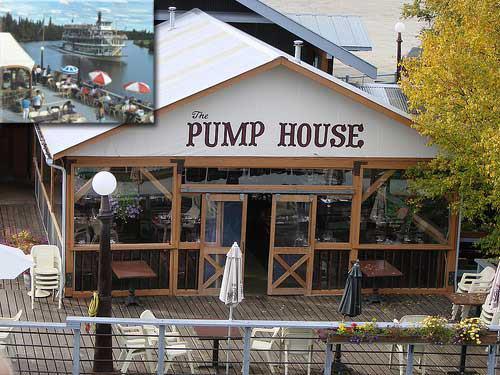 9) The Pump House