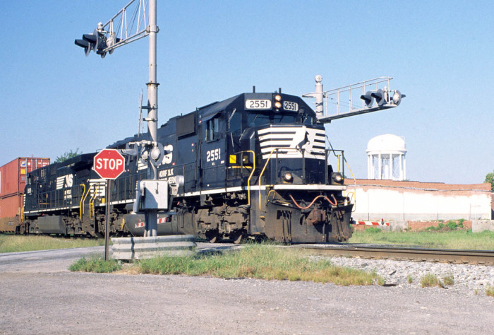 9. Norfolk Southern Train in Valdosta, GA