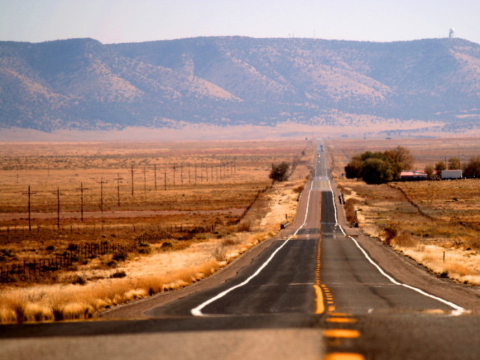 2. Get a partial vision of the original Route 66 by driving along State Route 66 and Oatman Road between Ash Fork and Golden Shores.