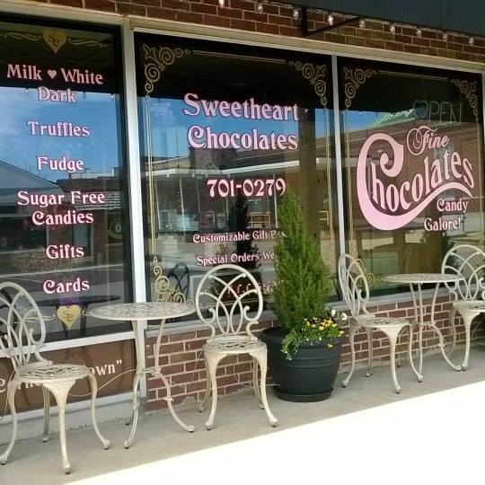 3. Sweetheart Chocolates, Farmington