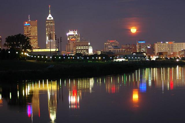 8. Indianapolis Skyline