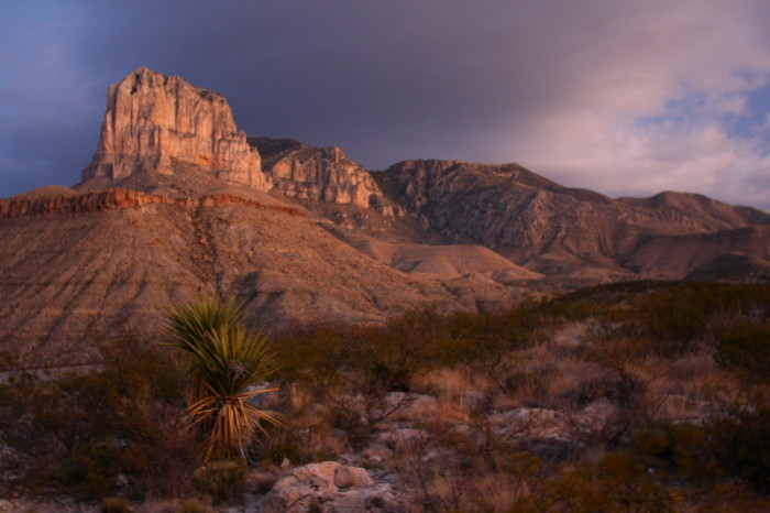 3) Guadalupe Mountains National Park