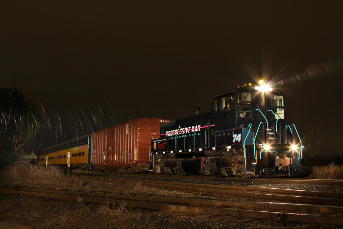 2. This is the Polar Express at Lakeville (No, not that Polar Express).