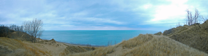 12. Here is a gorgeous view of the Indiana Dunes!