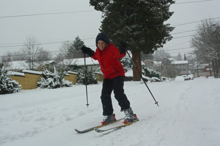 4) It wouldn't be surprising to see them skiing to work in the morning.