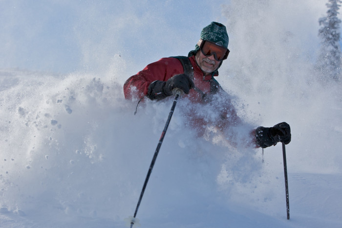 3) Going to Class on a Powder Day (Even if You Don't Ski)