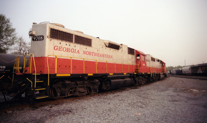 15. Georgia Northeastern Train