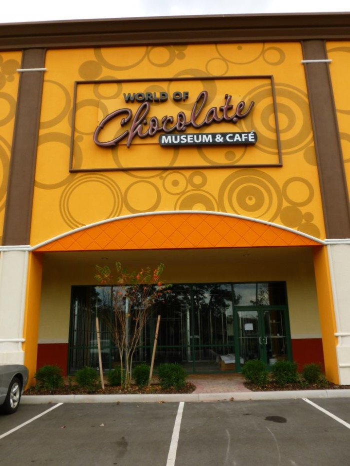 13. World of Chocolate Museum & Cafe