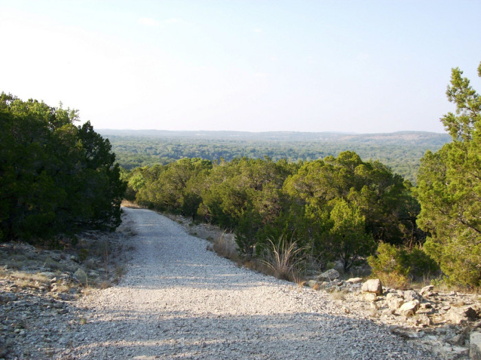 8) Wolf Mountain Trail (Pedernales Falls State Park)