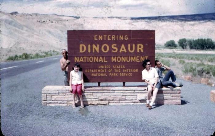10. Dinosaur National Monument, 1966