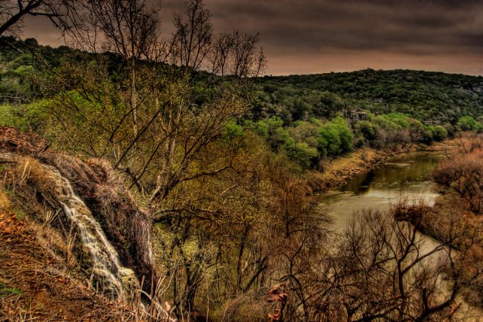 9) Colorado Bend State Park