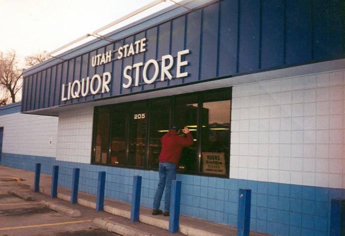 5) Shopping at the Liquor Store on Sunday