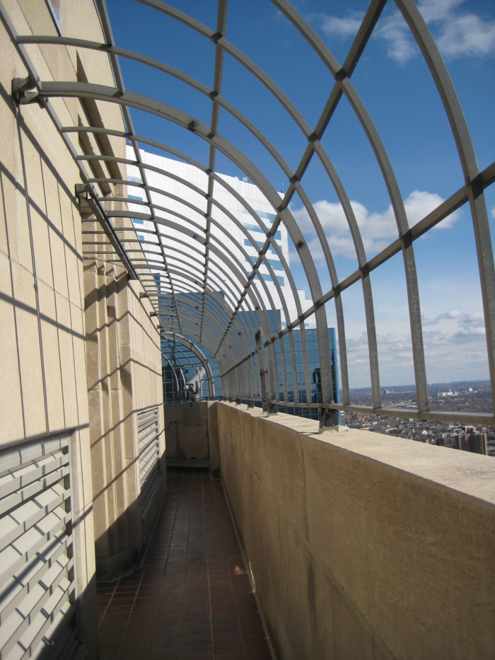 1. Foshay Tower Observation Deck - The views are amazing but the thin walkway might just make you nervous!