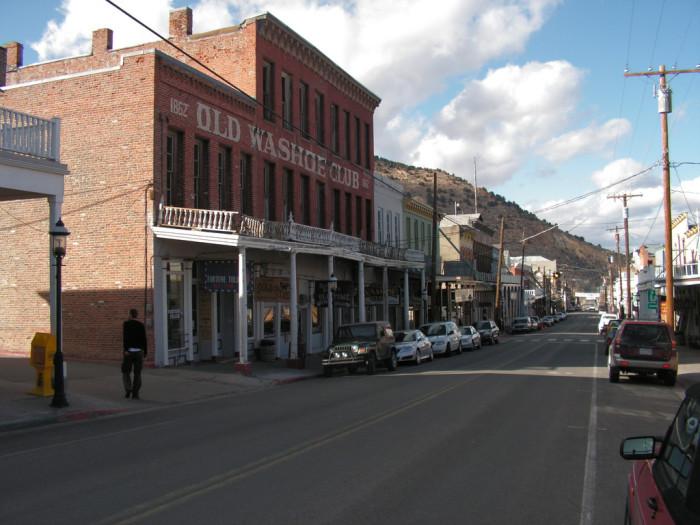 7. Virginia City Main Street