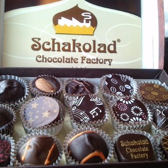 5. Schakolad Chocolate Factory - King Plaza, 885 Woodstock Rd # 200, Roswell, GA 30075