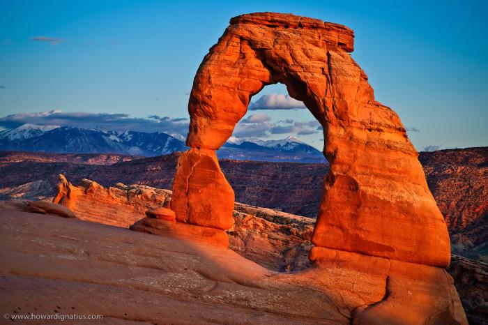 2) Arches National Park