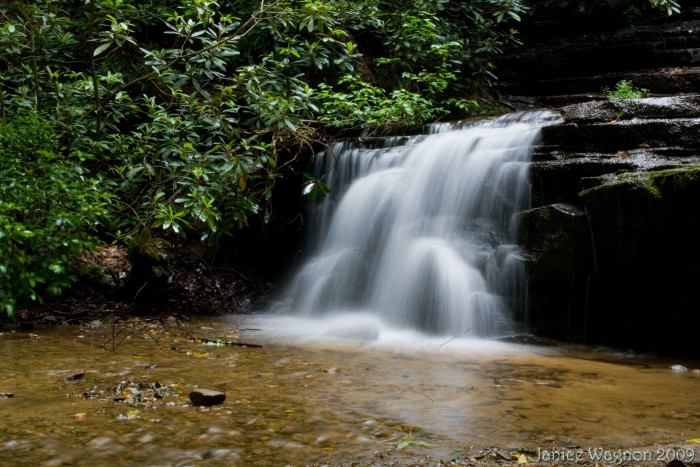 5. Hiking to the beautiful Panther Falls