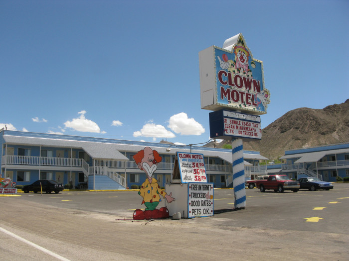 2. Clown Motel - Tonopah, NV