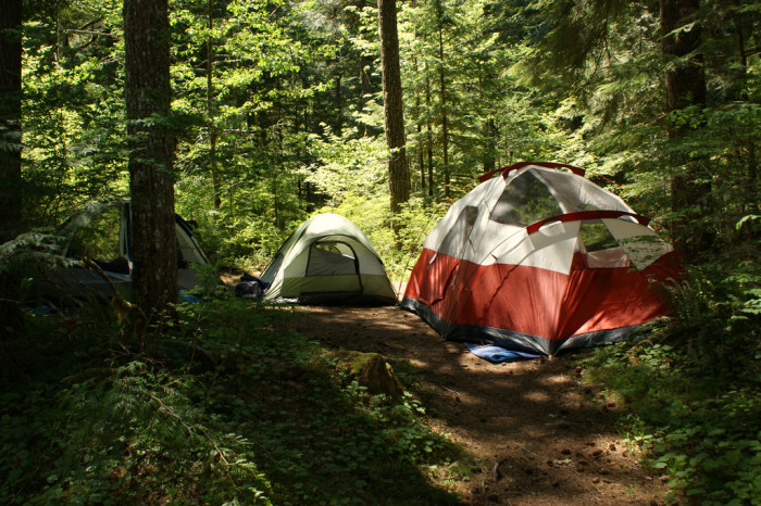 8) Still Warm Enough For Camping