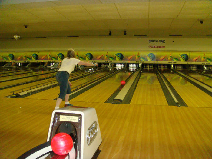 3) Hey, it may not be that original, but bowling is pretty much guaranteed to be fun for the whole family!