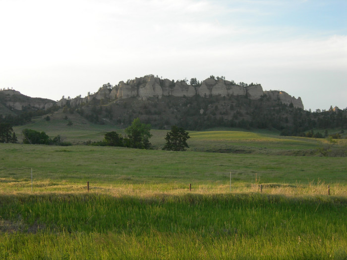16. Buttes near Fort Robinson State Park