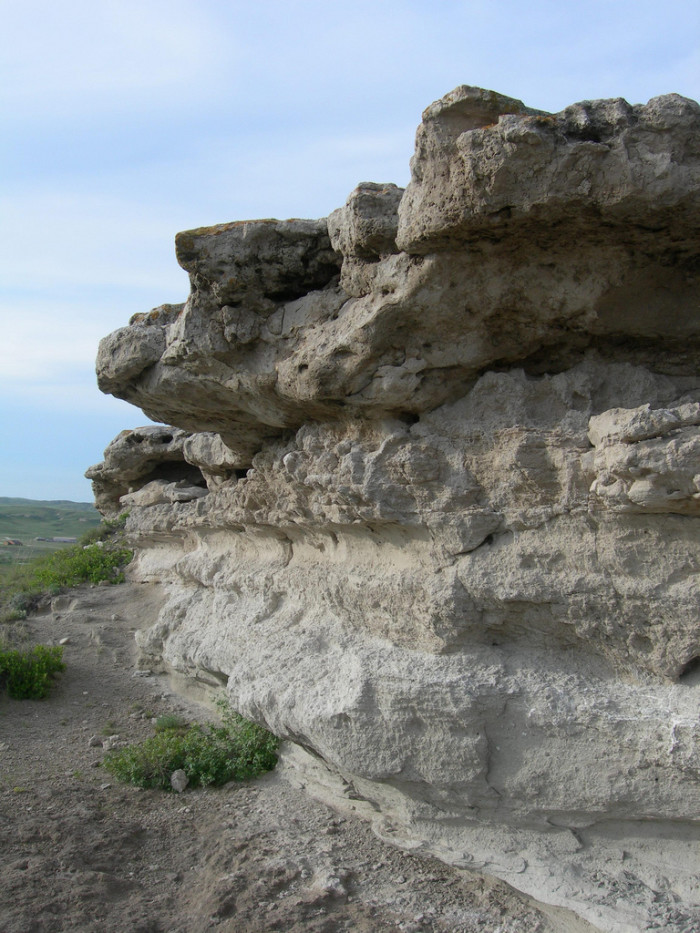 17. A Rock Formation at Agate Fossil Beds National Monument