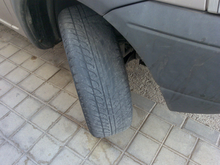 12) Failing to Replace Your Tires