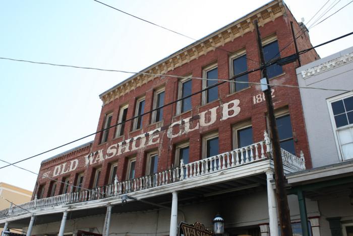 5. Old Washoe Club - Virginia City