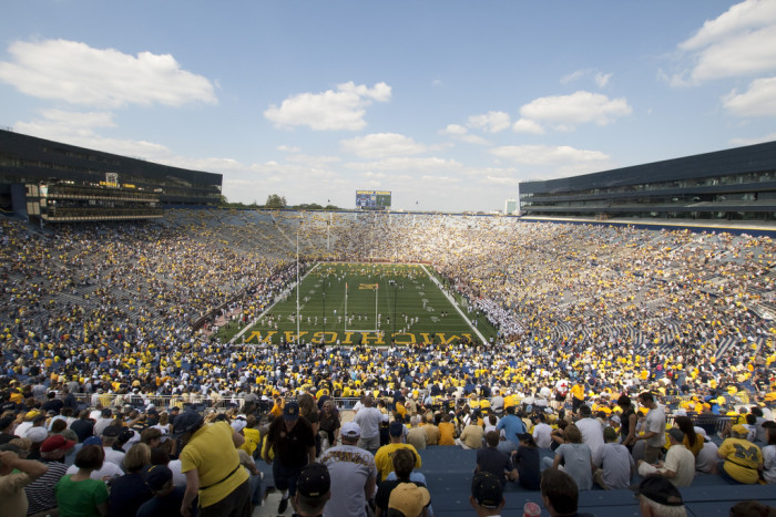 5) Take in a football game at the Big House
