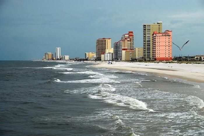8. Alabama is home to beautiful white-sand beaches...