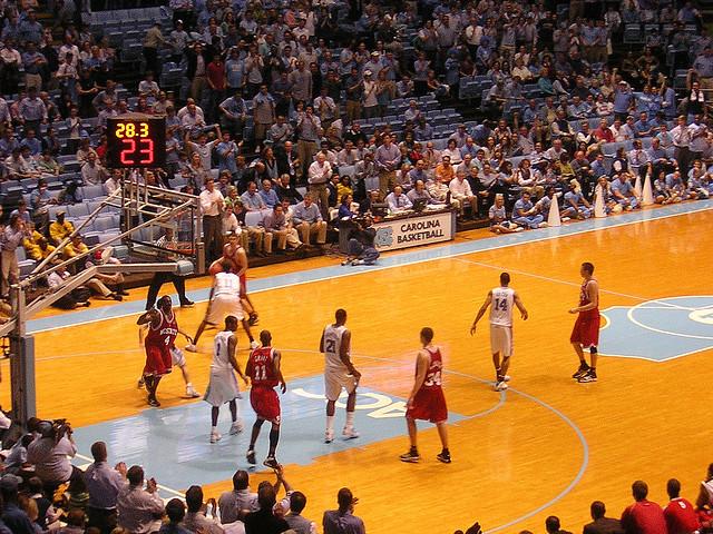 9. Count down the days till basketball season starts.