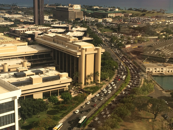 4) At least for those who live on Oahu, we deal with traffic; Honolulu has the second worst traffic in the country, just behind Los Angeles. The average driver spends 50 hours each year stuck in traffic. And from a former commuter, that seems like a conservative estimate.