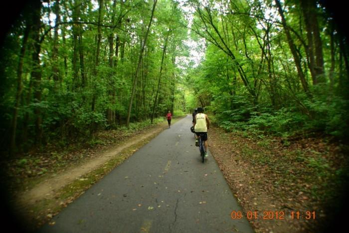 3. Olentangy River Greenway (Columbus)
