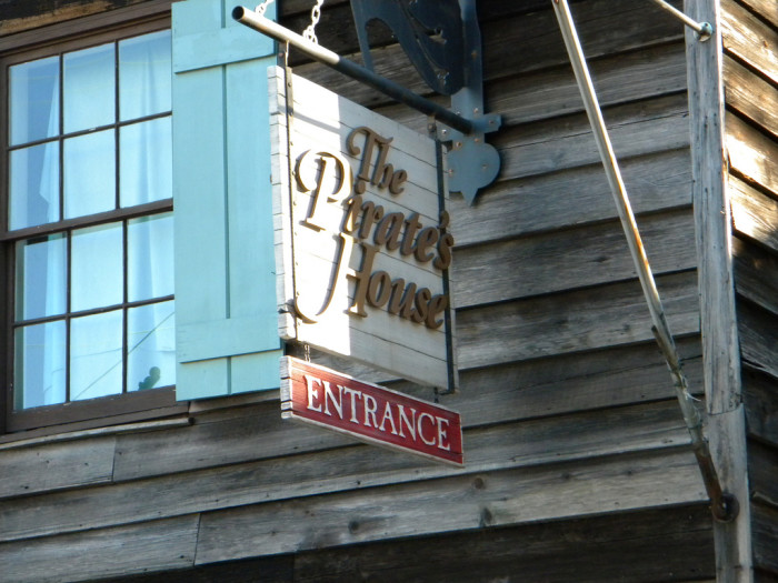 4. The Pirate's House in Savannah.