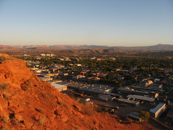 9) Visiting Relatives in St. George in July